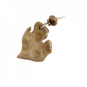 Michigan Petoskey Stone Charm - A