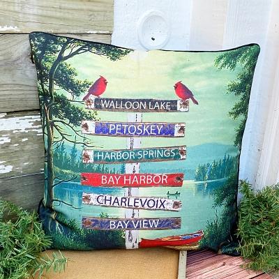 Northern Michigan Pillow