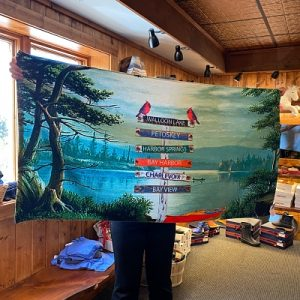 Northern Michigan Beach Towel
