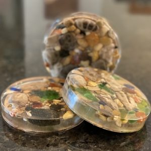 Petoskey Stone Treasure Coasters