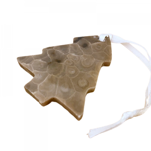 Tree Petoskey Stone Ornaments