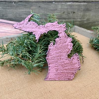 Michigan Magnet - Pink