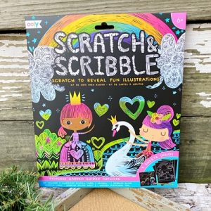 Scratch & Scribble - Princess Garden