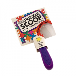 Magnifying Puzzle Scoop