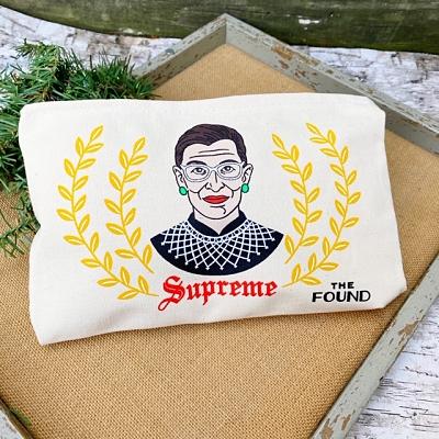 Ruth Bader Ginsburg Supreme Zipper Pouch