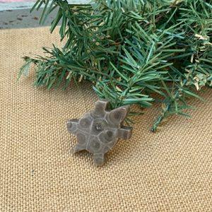 Turtle Petoskey Stone Magnet - L