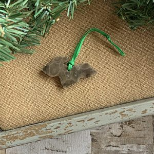 Upper Peninsula Petoskey Stone Ornament C