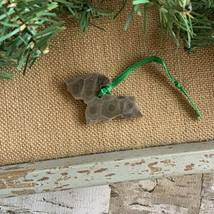 Upper Peninsula Petoskey Stone Ornament K