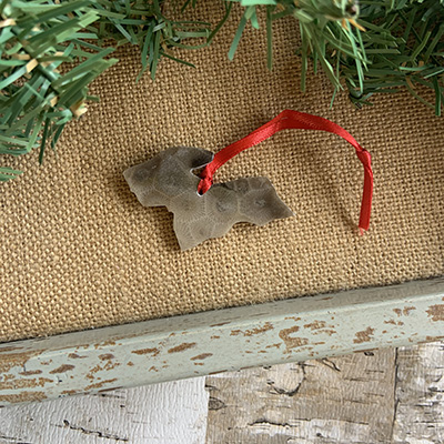 Upper Peninsula Petoskey Stone Ornament O