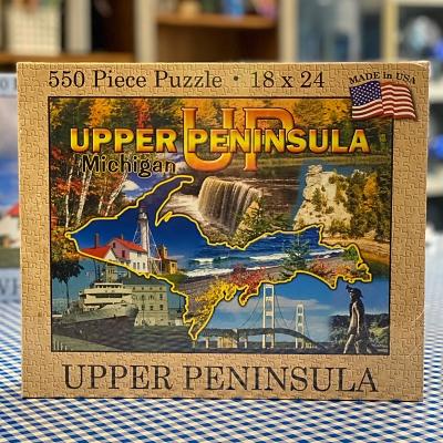 Upper Peninsula Puzzle