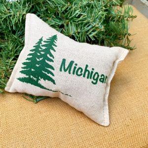 Balsam Fir Pillow - N. Michigan Pine Trees