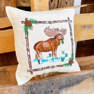 Balsam Fir Pillow - Moose