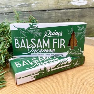 Paine's Genuine Balsam Fir Incense