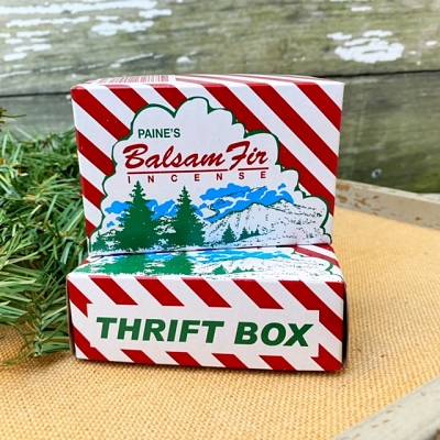 Balsam Fir Incense with Holder