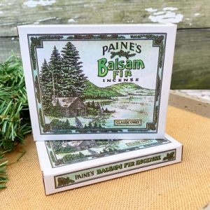 Paine's Genuine Balsam Fir Incense - Classic Cones