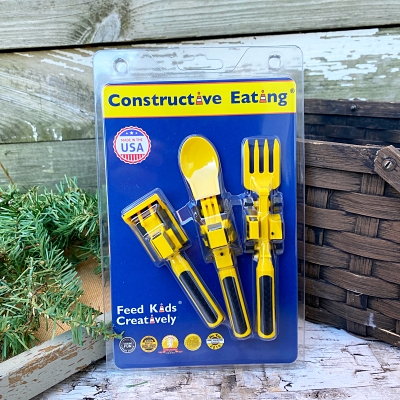 Constructive Eating Construction Utensils