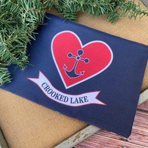 Crooked Lake Zipper Bag