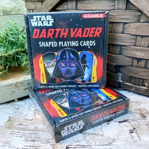 Darth Vader Shaped Playing Cards