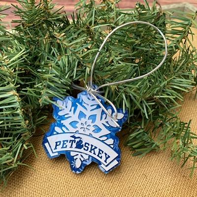 Petoskey Snowflake Ornament