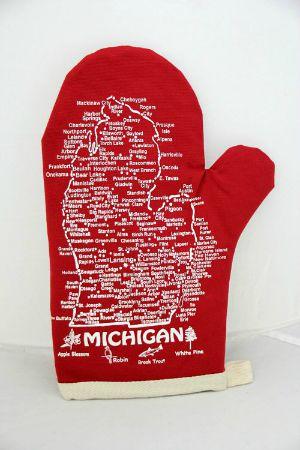 Michigan Oven Mitts