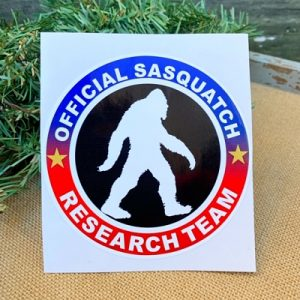 Official Sasquatch Research Team Sticker