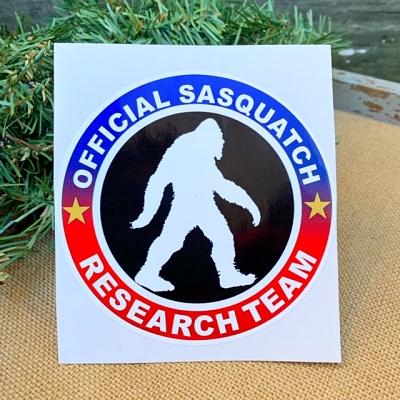 Official Sasquatch Research Team Sticker