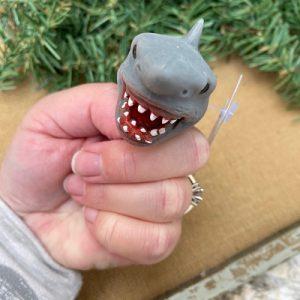 Shark Baby Bite Size Finger Puppet